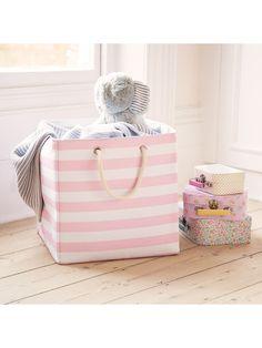 ccb2bd8d2b6e Canvas Storage Cube | JoJo Maman Bebe Toy Storage Bags, Cube Storage,  Childrens Toy