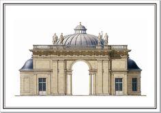 Sceaux Aurora Pavilion domed project