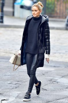 25 New York Winter Outfits Olivia Palermo Stil, Olivia Palermo Street Style, Olivia Palermo Outfit, Olivia Palermo Lookbook, Olivia Palermo Winter Style, New York Winter Outfit, Fall Winter Outfits, Autumn Winter Fashion, Winter Layering Outfits