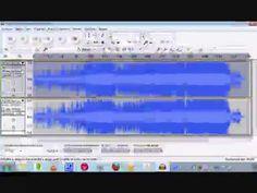 Audacity Cómo sacar la voz del cantante de un archivo de audio - YouTube