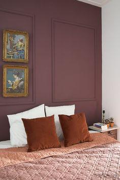 Home Interior Cuadros Rustic Bedroom Design, Home Decor Bedroom, Room Inspiration, Interior Inspiration, Cheap Home Decor, Home Remodeling, Decoration, Burgundy Bedroom, Scandinavian Bedroom