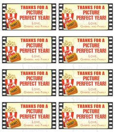 Sneak Peek of My Teacher Gift Giving Printables | Use Red Box gift card as alternative to traditional  movie theater tickets