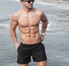 Antonio Pozo Fitness Model-shirtless at the beach in San Diego CA Muscular Men, Male Physique, Workout, Male Body, Fitness Goals, Mens Fitness, Fitspiration, Fitness Inspiration, Motivation Inspiration