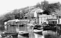 Photo of Looe, West Looe Jetty 1893 from Francis Frith Looe Cornwall, Devon And Cornwall, Old Photos, Places Ive Been, Britain, Scotland, Beautiful Places, Scenery, Architecture
