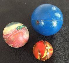 Lot of 3 Vintage Bounce Balls Toys | eBay