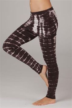 94d8998ae0 Organic French Terry Leggings- Bamboo Stripes at LVR Black, Deep Purple,  Red,