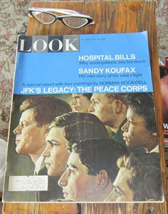 Look Magazine June 14 1966  Norman Rockwell by VistaChick on Etsy