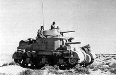 Grant Tank of the Scots Greys in the desert in 1942
