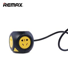 REMAX 1m Magic Cube Wire USB Total Control Switch Socket Color White -- You can get more details by clicking on the image.