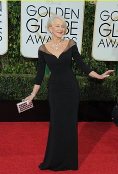 Helen Mirren - This dress, this look, this much class, I want it all.