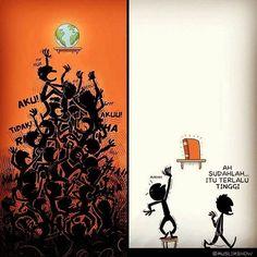 RENUNGAN MALAM Perbandingan antara usaha seseorang mengejar DUNIA dan ILMU.