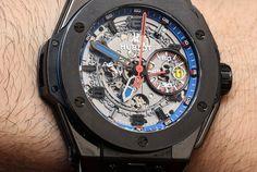 Hublot Big Bang Ferrari Watch Review