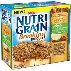 Nutri-Grain Breakfast Biscuits Apple Cinnamon, 7 Ounce - http://sleepychef.com/nutri-grain-breakfast-biscuits-apple-cinnamon-7-ounce/