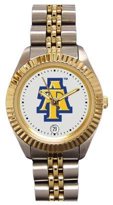 North Carolina A&T State University Aggies Ladies Executive Stainless Steel Sports Watch by SunTime. $149.99