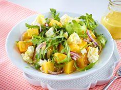 Mangosalat mit Feta