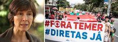 """Em entrevista à Rádio Brasil Atual, psicanalista diz que a presidente legítima Dilma Rousseff """"foi vítima da própria base de apoio"""" e avaliou a passividade do brasileiro diante dos retrocessos do governo de Michel Temer; """"Não sei se as pessoas estão passivas ou anestesiadas, a impressão que tenho na rua é que as pessoas estão furiosas com todas as perdas de direitos, com a crise econômica e as saídas impopulares do governo Temer. Mas estão um pouco sem opção por enquanto"""",..."""