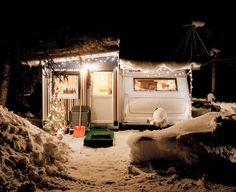 Winter Camping. St. Moritz. Daniel Gebhart de Koekkoek.