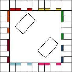 Free Printable Board Game Templates.  Maybe I could find a way to use this on the Smart Board?