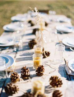 Centros de mesa con velas: las últimas tendencias para aportar calidez a tu gran día Image: 4