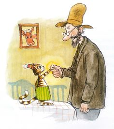 Pettersson und Findus Morgen Findus, wird's was geben 1995 Christmas Illustration, Children's Book Illustration, Botanical Illustration, Anime Comics, Nordic Art, Here Kitty Kitty, Fairy Art, Typography Prints, Funny Cartoons