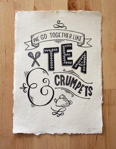 Hmm tea and crumpets xoxo  Shop amazing loose leaf tea right now! www.mysteepedtea.com/KT1002836