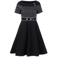 SHARE & Get it FREE | Vintage Polka Dot Flare DressFor Fashion Lovers only:80,000+ Items·FREE SHIPPING Join Dresslily: Get YOUR $50 NOW!
