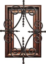 Homeinnovationsok.com likes.....GlassCraft Door Accessories – Mahogany and Knotty Alder Speakeasies