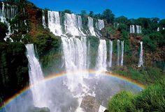 Cataratas de Iguazú, en el Alto Paraná de Brasil