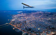 Solar Impulse 2 flying over San Francisco by @clemente3000 @solarimpulse #sanfrancisco #sf