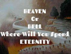 Where r u going? Salvation Scriptures
