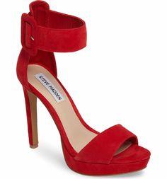 7d21f70e839 Main Image - Steve Madden Circuit Sandal (Women) Red Platform Shoes