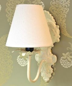 Shabby French Chic Swing Arm Wall Lamp   shabby chic ...