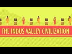 Indus Valley Civilization: Crash Course World History Mystery of History Volume Lesson 40 Crash Course World History, Mohenjo Daro, Ancient World History, Indus Valley Civilization, Maya Civilization, 6th Grade Social Studies, Mystery Of History, Local History, History Timeline