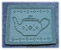 Tea Pot Dishcloth - May