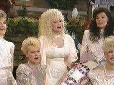 Dolly Parton singing & joking with her sisters (From the Home For Christmas special)