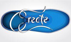 Illustrator Tutorial: Shoe Lace Text Effect