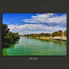 Meridiana claridad: Río verde