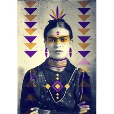 Frida Kahlo - Nativo Series
