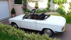 Pour ce mardi, Juliette, la 304 cab d'Antoine S. Peugeot 304, Psa Peugeot Citroen, 304 Cabriolet, Peugeot France, Automobile, Cars, Style, France, Autos