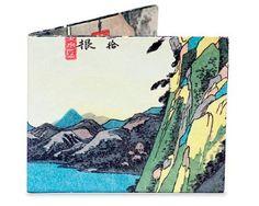 Dynomighty Design Men's Hiroshige Mighty Wallet: Amazon.com: Clothing