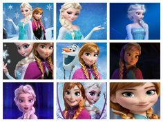 ✝☮✿★ DISNEY FROZEN ✝☯★☮  Disney Frozen Icons