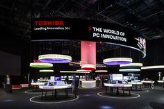 "Toshiba @ IFA 2013 ""Islands of light"" www.uniplan.com"