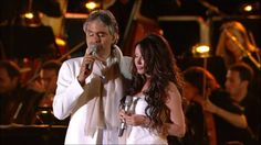 Andrea Bocelli feat. Sarah Brightman Canto della Terra, YouTube, Uploaded on May 15, 2011.  Canto della Terra (Song of the Earth).   Yes I know My love, that you and me Are together briefly For just a few moments In silence As we look out of our windows And listen To the sky And to a world That's awakening And the night is already for away Already for away