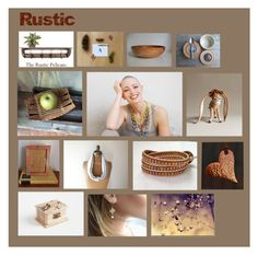 """""""Rustic"""" by crystalglowdesign ❤ liked on Polyvore featuring art and rustic"""