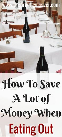 How To Spend Less When Dining Out