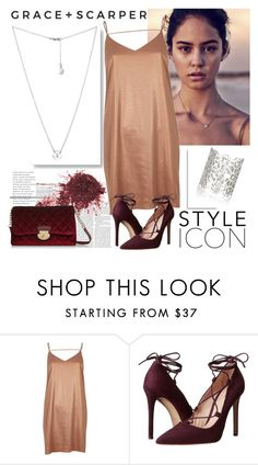 """""""GRACE+SCARPER"""" by gaby-mil ❤ liked on Polyvore featuring River Island, Massimo Matteo, jewelry and graceandscarper"""