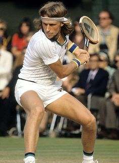 Bjorn Borg. Always and forever our favorite player. And love that iconic Fila shirt.