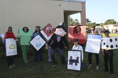 Halloween Last Minute DIY Monopoly Costumes CPE Third Grade