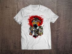 Afro Samuray Wu-Tang Men T-shirt  Movie Animation Tee Shirt Size S-XXL #FruitoftheLoom #GraphicTee