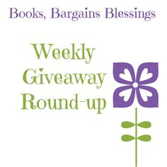 Every week at Books, Bargains, Blessings there is a blog giveaway roundup.  Come enter your links!  http://www.booksbargainsblessings.com/search/label/Weekly%20Giveaway%20Roundup